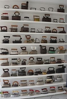 """Did you know that the electric iron in the 1920's was the entree into home appliances for P.C. Richard & Son?  """"The electric iron was the acorn that gave me my start and eventually opened the door to my growth into the electric appliance business""""  -A.J. Richard"""