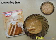 karamelový krém Peanut Butter, Pudding, Food, Custard Pudding, Essen, Puddings, Meals, Yemek, Avocado Pudding