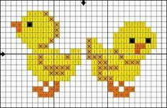 quilting like crazy Small Cross Stitch, Cross Stitch Bird, Cross Stitch Borders, Cross Stitch Animals, Cross Stitch Designs, Cross Stitching, Cross Stitch Embroidery, Embroidery Patterns, Cross Stitch Patterns