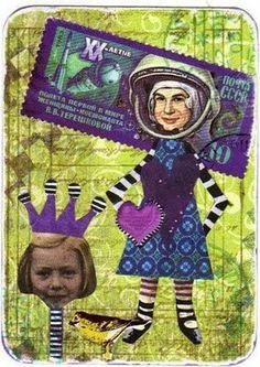 postage art