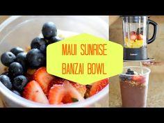 DIY Maui Sunrise Banzai/Acai Bowl!♡ - YouTube These are the BOMB!
