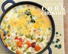 Summer's Best Corn Chowder ♥ AVeggieVenture.com