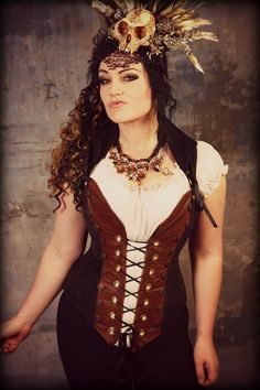Quality Handmade Corsets for vibrant, passionate women who want an adventure-filled, romantic life! Sizes up to Styles in Steampunk, Renaissance, Pirate! Damsel In This Dress, Pirate Fairy, Steampunk Pirate, Renaissance Fashion, Bustiers, Corsets, Bodice, Wonder Woman, Cosplay