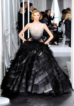 Christian Dior Couture, Paris Fashion Week Spring 2012