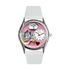 Whimsical Watches Unisex S0620047 Nurse Classic Analog Display Japanese Quartz White Watch - http://www.artistic-watches.com/2015/03/03/whimsical-watches-unisex-s0620047-nurse-classic-analog-display-japanese-quartz-white-watch/