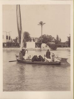 Ferry on the Nile