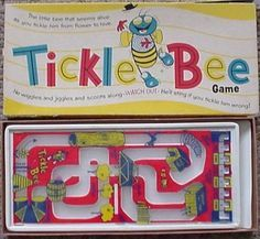 Traditional Board Games Vintage 1960's Tickle Bee 215 Plastic Game by Shaper   eBay
