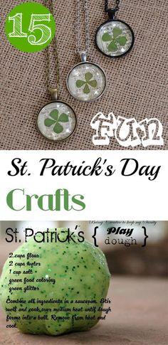 15 Fun St. Patrick's Day Crafts