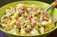 Pour cette salade de pâtes, choisissez de préférence du jambon sans nitrite. Je sais, ce n'est pas facile à trouver mais certains charcutiers ou magasins d