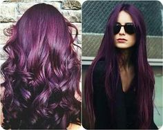 So in love with purple hair.