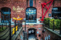 The Beatles Story enterence, Liverpool