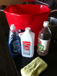 Hardwood Floor Cleaning Solution