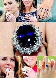 katemiddletons: Duchess of Cambridge engagement ring