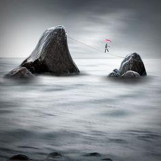 'Balanceakt' von Christine  Ellger