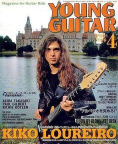 Fabio Lione, Nick Menza, Young Guitar, Paul Gilbert, Namm Show, Guitar Magazine, Ace Frehley, Rock N Roll, Laurus Nobilis