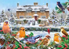 A winter song - Gibsons - legpuzzel - 1000 stukjes - Greg Giordano