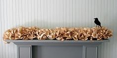 Book Page Garland...can be used for Halloween or many other ideas.