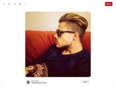 Cool undercut haircut