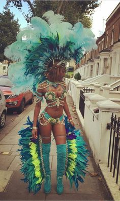 Loren Feathers Gladiador Headpiece Carnival Cool