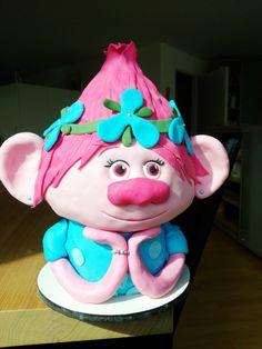 Trolls Prinzessin Poppy Torte