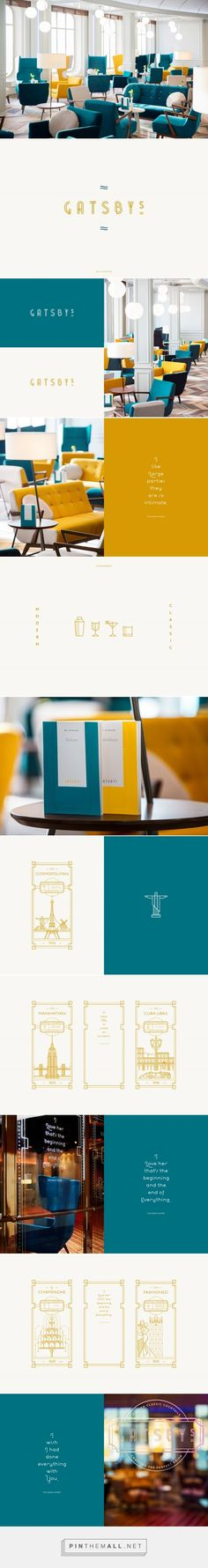 GATSBY°S Restaurant Branding by Studio Chapeaux    Fivestar Branding Agency – Design and Branding Agency & Curated Inspiration Gallery