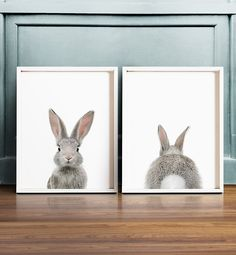 Bunny butt Rabbit print Easter decor PRINTABLE by TheCrownPrints