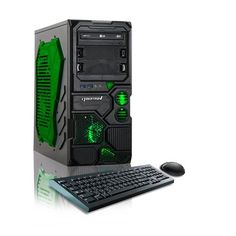 CybertronPC Borg-Q Gaming Desktop PC AMD Quad core processor with each core running at an impressive GeForce Graphics card with of dedicated video memory RAM memory hard drive DVD/CD Rewriter High quality Channel HD Audio Gaming Desktop, Gaming Computer, Desktop Computers, Quad, Microsoft Windows 10, Best Electric Pressure Cooker, Gaming Pcs, Cool Things To Buy, Stuff To Buy
