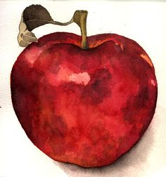 Red apple sketch by Celeste33