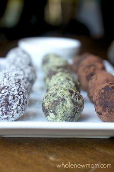 Chocolate Avocado Truffles - An easy dessert that is healthy, paleo, vegan, and sugar and grain free