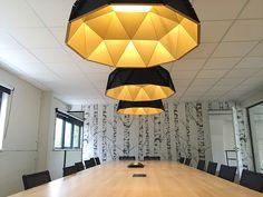 APOLLO   DARK #lighting #darlings #ofiice #design #interiordesign by BuroProject #project ARCHE at Wondelgem Gent BE