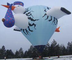 The Albuquerque International Balloon Fiesta - Special Shapes Search. The stork Albuquerque Balloon Festival, Albuquerque Balloon Fiesta, Air Balloon Festival, Air Ballon, Hot Air Balloon, Expo 67 Montreal, Balloon Flights, Balloon Rides, Helium Balloons