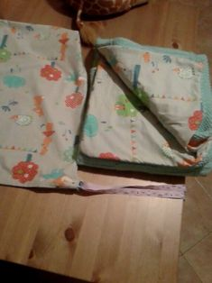 Handmade Baby Blanket with case