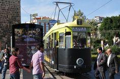 Antalya - Straßenbahn aus Nürnberg als Attraktion