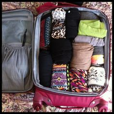 packing for three weeks in Europe in one carry on bag