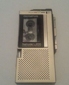 Olympus L200 Microcassette Voice recorder
