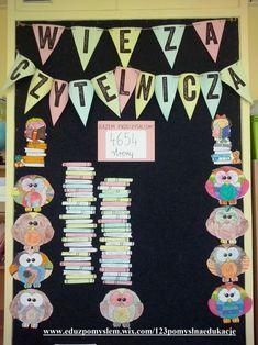 Wieża czytelnicza Creative Kids, Classroom Decor, Baby Boy, Teaching, Map, Education, Words, Frame, Type 3