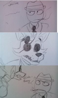 FNAF; Foxy and the Boss comic 1/4
