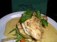 Chicken Bonnie Prince Charlie (in Drambuie sauce)