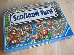 Scotland Yard - always wanted to be Mister X
