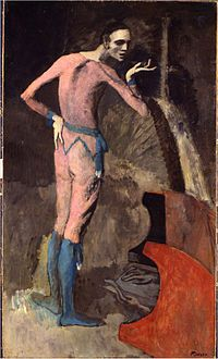 Pablo Picasso, 1904, L'acteur (The Actor), Metropolitan Museum of Art, New York