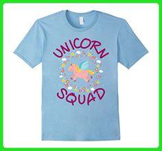 d5b56ac3 Mens Unicorn Squad Cute Funny Unicorn T Shirt Large Baby Blue - Fantasy sci  fi shirts