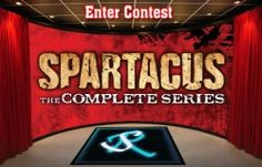 ScreenRave and Anchor Bay Entertainment are offering an opportunity to win a copy of Spartacus: The Complete Series on Blu-ray +Digitial HD with Ultraviolet on September 17, 2014. This is a 13 disc box-set collection of all 4 seasons of the show (Blood & Sand, Vengeance, War of the Damned, and the prequel Gods of the Arena.)