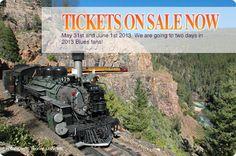 Durango Blues Train - Blues on the Rails Durango & Silverton Narrow Gauge Railroad