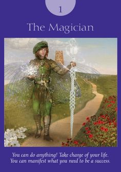 The Magician. http://www.healyourlife.com/oracle-cards/result/simple-reading/18442