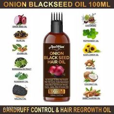 Hair Oil AroMine Onion Black Seed Hair Oil for Hair Growth for (Kalonji Oil) Dandruff & Hairfall Control With Comb Applicator- Hair Oil (100 ml) Product Name: AroMine Onion Black Seed Hair Oil for Hair Growth for (Kalonji Oil) Dandruff & Hairfall Control With Comb Applicator- Hair Oil (100 ml) Multipack: 1 Flavour: Onion Country of Origin: India Sizes Available: Free Size   Catalog Rating: ★4.1 (478)  Catalog Name: Free Gift Premium Ultra Herbal Oil CatalogID_833398 C166-SC2033 Code: 571-5571418-282