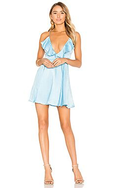 4e94c89ad44a Shop for Privacy Please x REVOLVE Sigsbee Dress in Sinatra Blue at REVOLVE.
