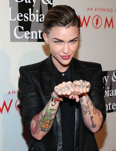 It's very important to remember that we live on the same planet as Ruby Rose.