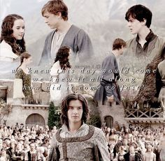 That they would never return to Narnia... It is sad that it has come so fast...