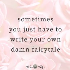 how to write a fairytale of your own