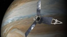 """Juno will pass 5600 miles above the planet's mysterious Great Red Spot - a 10000-mile wide storm that has """"raged for centuries"""".An artist's impression of Juno orbiting Jupiter. Pic NASA/JPL-Caltech NASA is preparing to fly its Juno spacecraft over a huge storm which has been raging on Jupiter for up to 350 years.  The planet's Great Red Spot is a 10000-mile wide storm that has been monitored since 1830 but which scientists think actually formed centuries earlier.The Great Red Spot is…"""